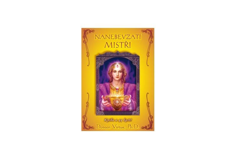 Nanebevzatí mistři, kniha a 44 karet