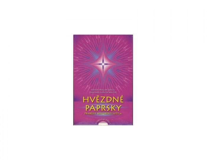 Hvězdné Paprsky kniha a 46 karet